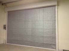 Противопожарные алюминиевые шторы